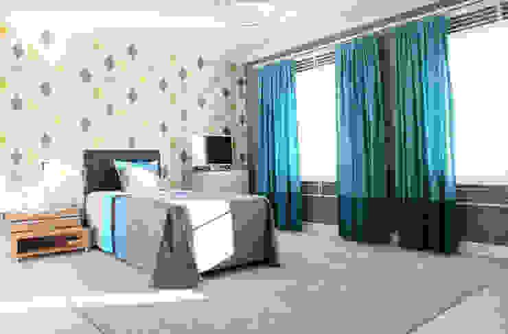 Aykuthall Architectural Interiors – OHY Evi Sunflower Sitesi:  tarz Çocuk Odası