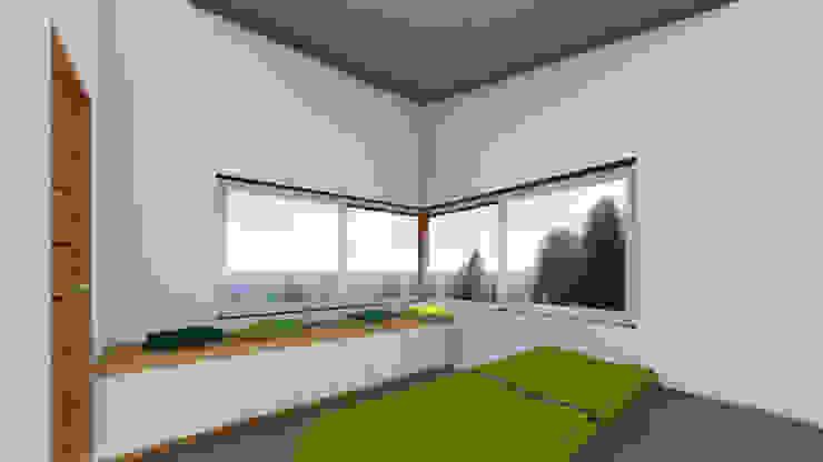 REFUGIO LR Dormitorios de estilo moderno de EjeSuR Arquitectura Moderno
