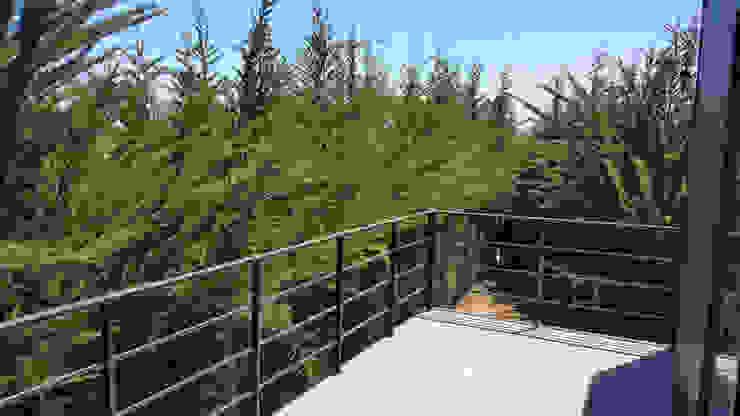 Terraza dormitorio principal Balcones y terrazas mediterráneos de ESARCA Mediterráneo