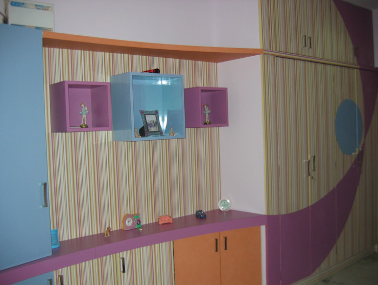 toy chest Modern style bedroom by Bluebell Interiors Modern Plywood