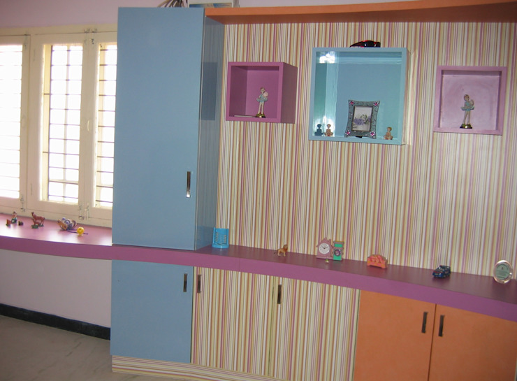 Спальня в стиле модерн от Bluebell Interiors Модерн Фанера