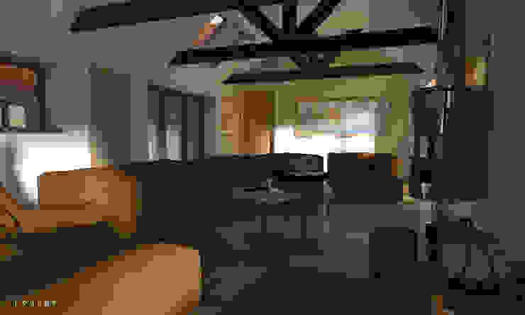 Contemporary Rural Barn Conversion par Samuel Kendall Associates Limited