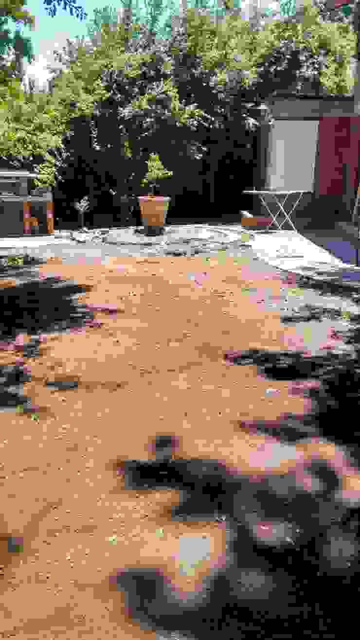 Remodelación de jardín de Construcciónes J&r