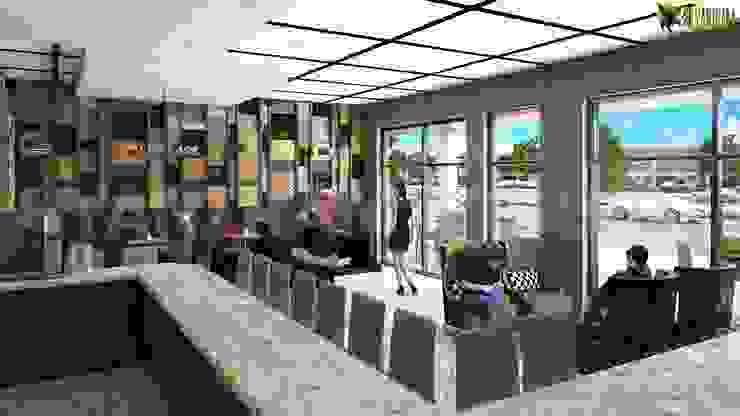 Eine vollständige und umfassende Coffee Shop - Bar mit schönen Innenarchitektur Eclectic style hotels by Architectural Design Studio Eclectic