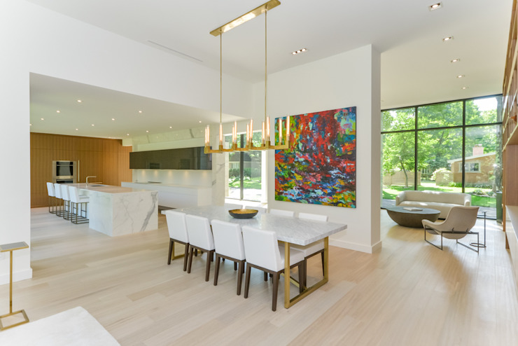 Rockcliffe Park Modern dining room by Flynn Architect Modern