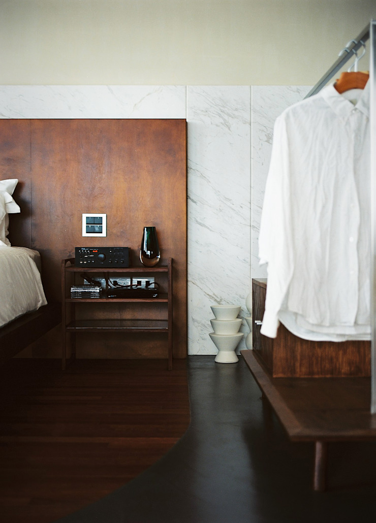 Bedroom Modern style bedroom by 鄭士傑室內設計 Modern