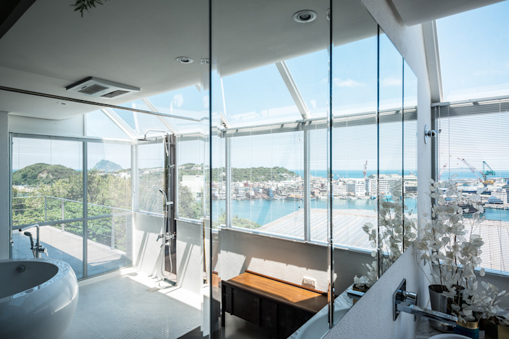Bathroom Modern bathroom by 鄭士傑室內設計 Modern