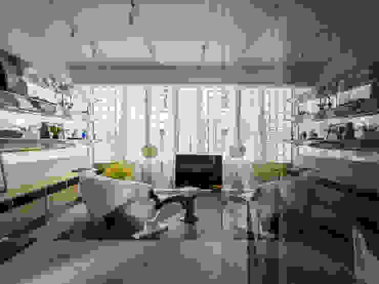 Living Room Modern Living Room by 鄭士傑室內設計 Modern