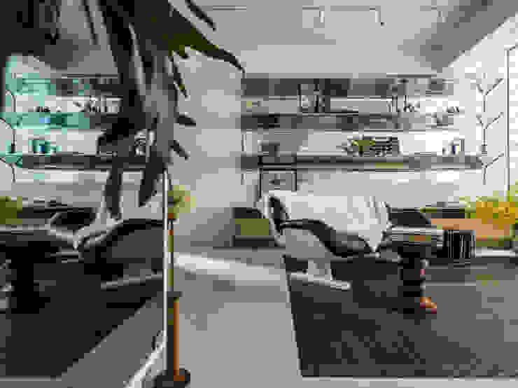 Ruang Keluarga oleh 鄭士傑室內設計, Modern