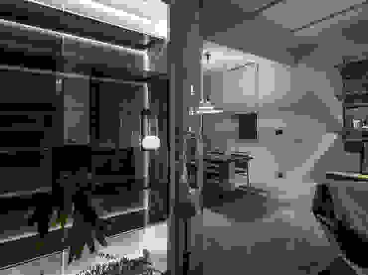 Entrance + Dining Room 根據 鄭士傑室內設計 現代風