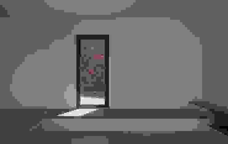 Living Room Salas de estilo minimalista de Mayer & Selders Arquitectura Minimalista Madera Acabado en madera