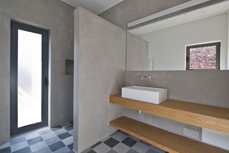 Bathroom Minimalist style bathroom by Mayer & Selders Arquitectura Minimalist Concrete