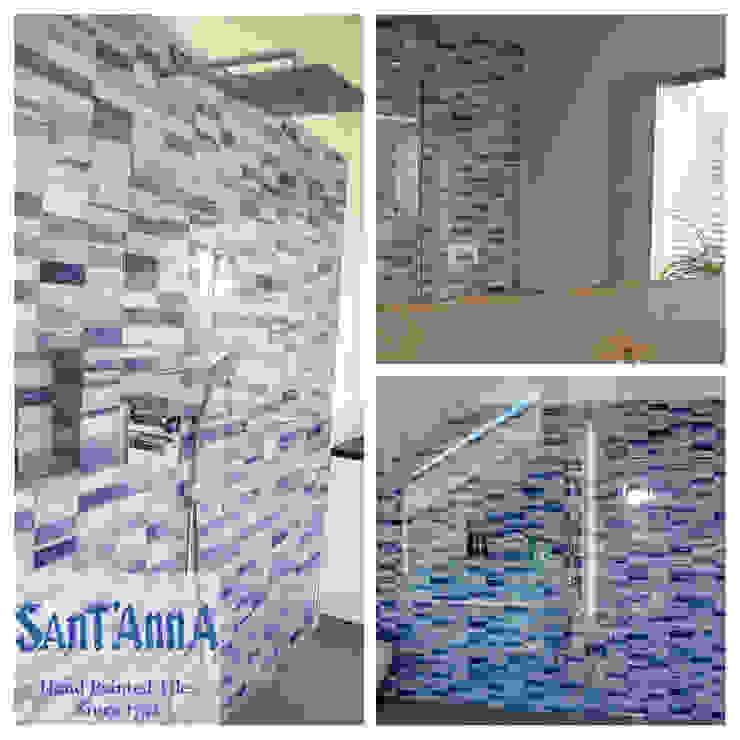 Casa-de-Banho Casas de banho modernas por Sant'Anna Moderno Azulejo