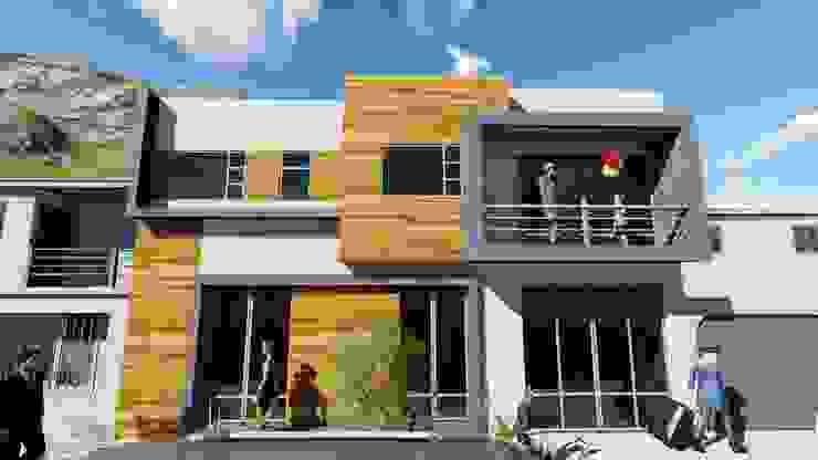 ARQUIFUTURA... Arquitectura Integral Minimalist houses