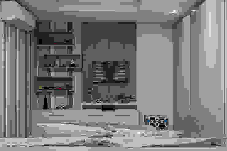 Modern style bedroom by TRÍADE ARQUITETURA Modern