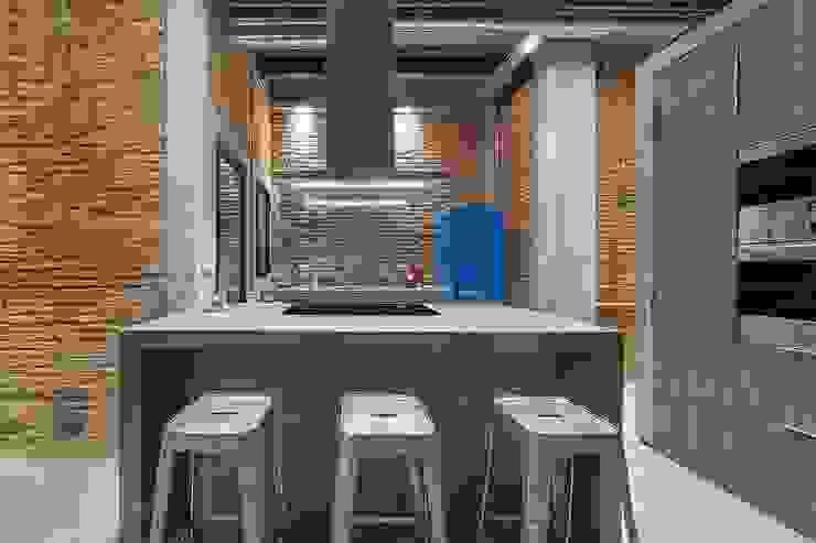 N.A. Construcción 廚房 磚塊