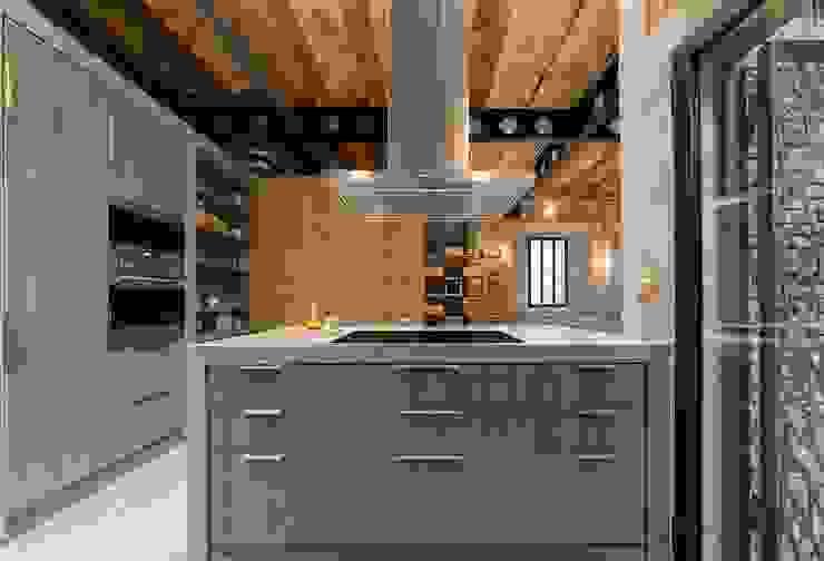 Cuisine de style  par N.A. Construcción, Rustique
