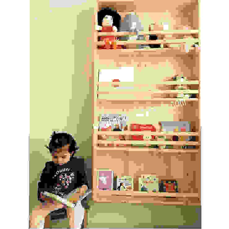 Montessori Bebek Çocuk Odası, Montessori Duvara Monte Kitaplık Modern Çocuk Odası MOBİLYADA MODA Modern Ahşap Ahşap rengi