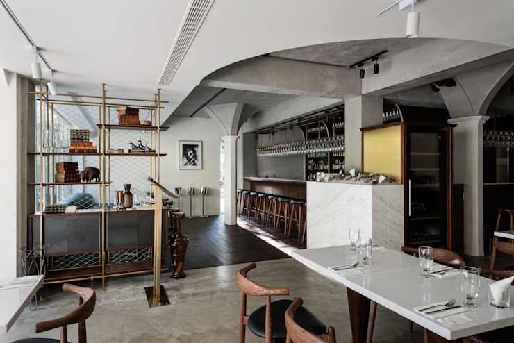Dining Area + Bar 根據 鄭士傑室內設計 現代風