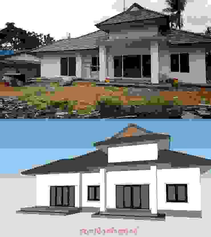 บ้านเดี่ยว โดย สถาปนิกสร้างสรรค์