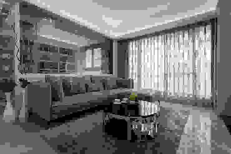 Ruang Keluarga Klasik Oleh 你你空間設計 Klasik Marmer