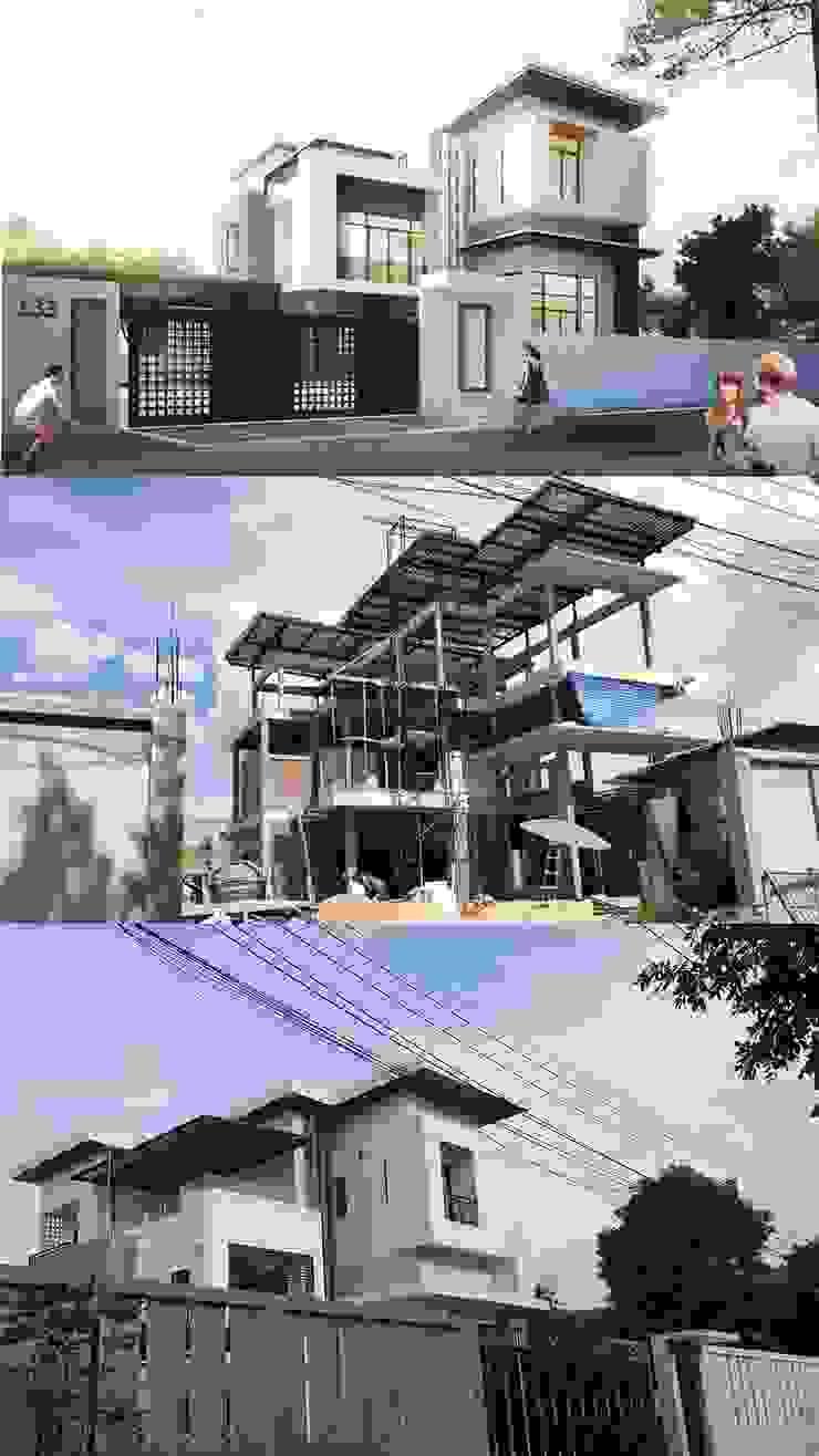 บ้านเดี่ยว 3 ชั้น โดย Adapstudio