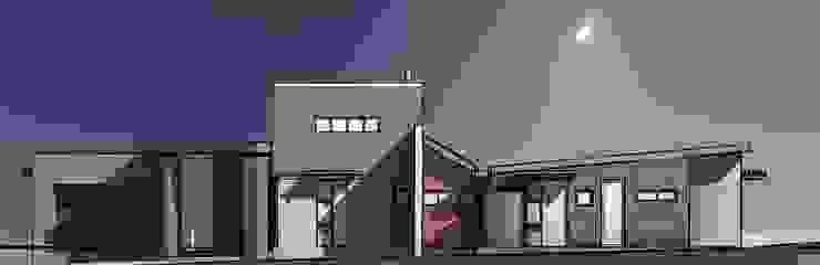 Street Facade Modern houses by Architects Unbound (Pty) Ltd. Modern Bricks