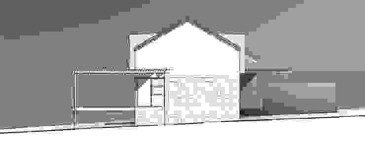 2015#01 Cottage - Kidd's Beach Minimalist house by Architects Unbound (Pty) Ltd. Minimalist Stone