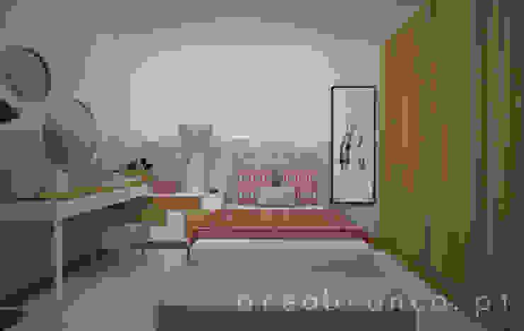 Dormitorios de estilo  de Areabranca,