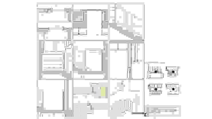 """Edifício """"AAJUDE – Associação de Apoio à Juventude Deficiente"""" por Albertina Oliveira-Arquitetura Unipessoal Lda Moderno"""