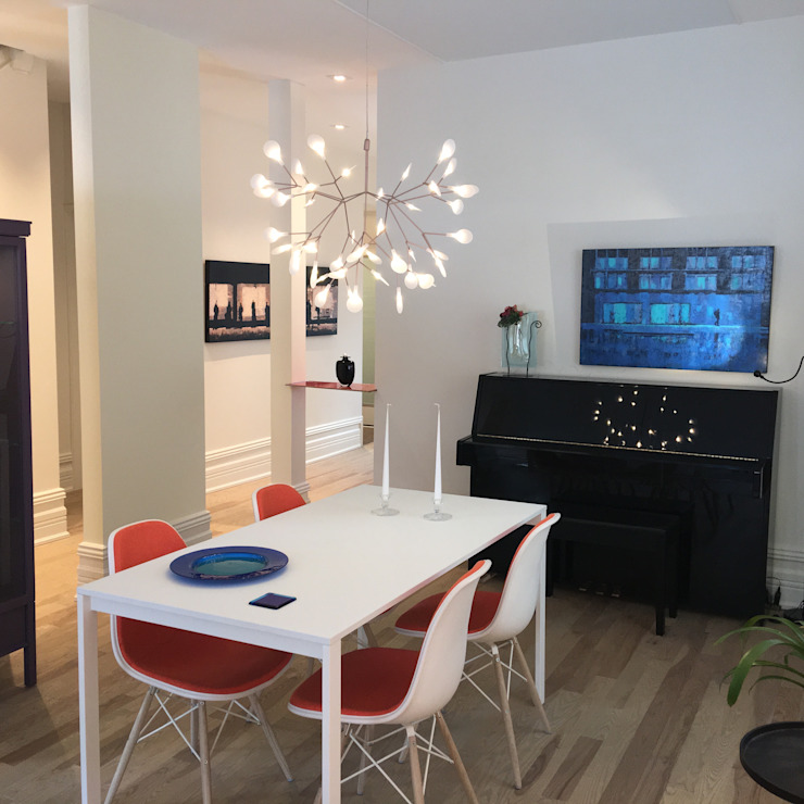 Fourth Ave. Modern dining room by USER WAS DELETED! Modern