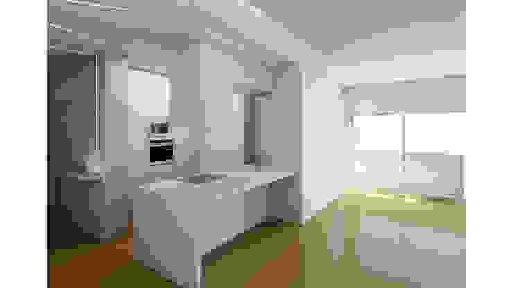 Modern style bedroom by Albertina Oliveira-Arquitetura Unipessoal Lda Modern