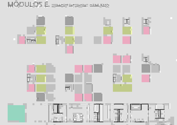Unidades Mínimas Habitables Baños industriales de gOO Arquitectos Industrial