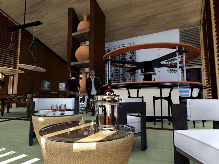 HOTEL EN SANTA TERESA – LA CONVENCIÓN – CUSCO de Paz Ingenieros & Arquitectos Moderno
