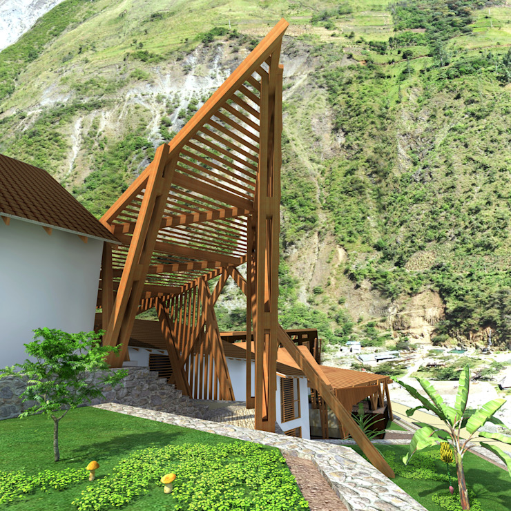 Spa modernos de Paz Ingenieros & Arquitectos Moderno