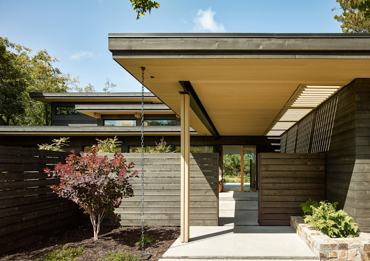 Feldman Architecture Modern houses Wood