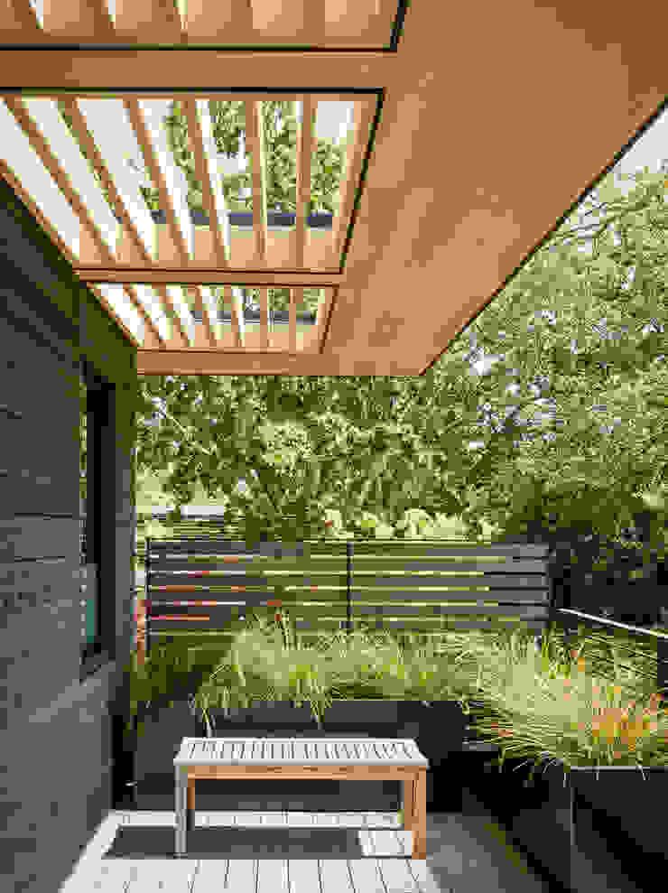 Portola Valley Ranch Modern Houses by Feldman Architecture Modern Wood Wood effect