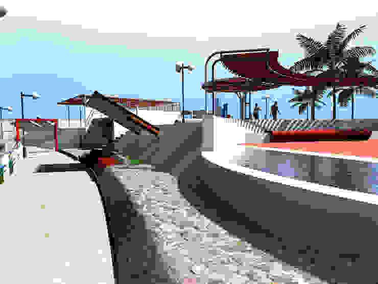 PISCINA SEÑOR DE TORRECHAYOC – QUILLABAMBA – CUSCO de Paz Ingenieros & Arquitectos Moderno