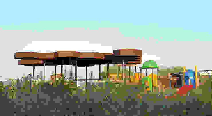 Modern style gardens by TABB Architecture Modern
