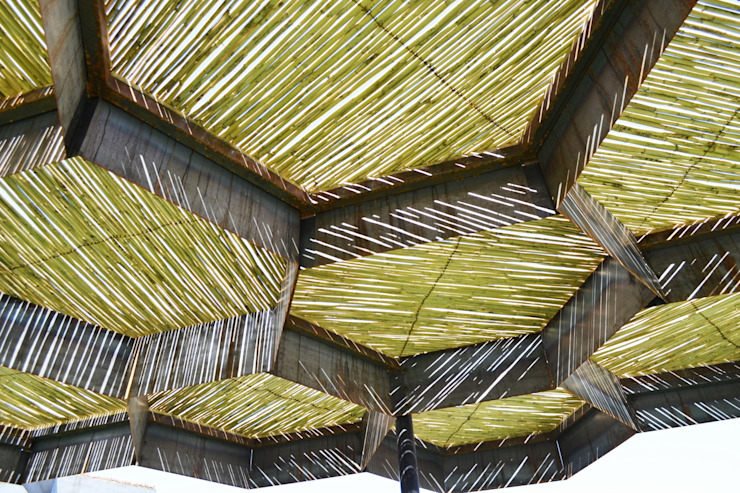 Parque Altares Jardines modernos de TABB Architecture Moderno