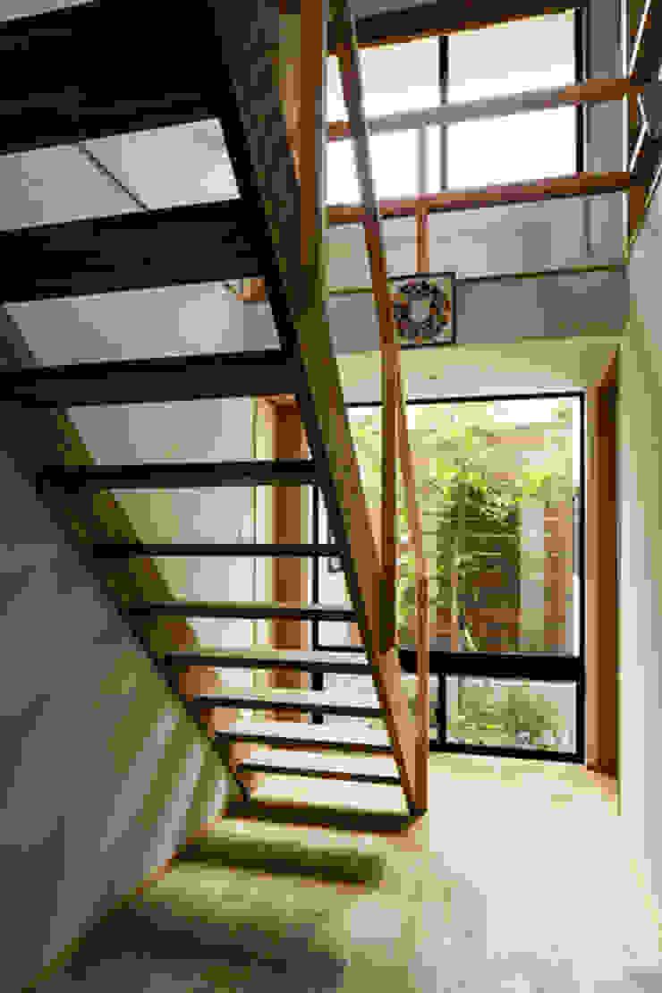 Modern Corridor, Hallway and Staircase by 藤森大作建築設計事務所 Modern