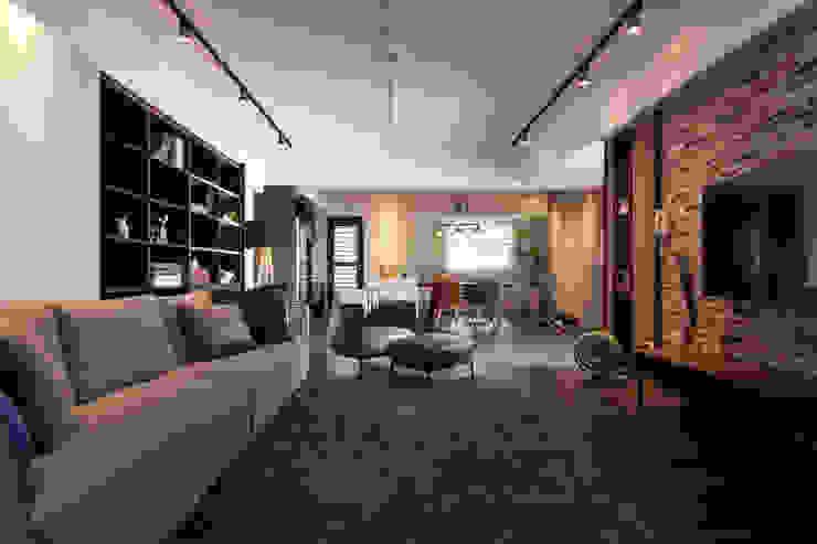 غرفة المعيشة تنفيذ 合觀設計, صناعي