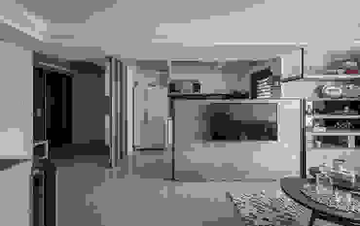 空間串聯 Scandinavian style living room by 你你空間設計 Scandinavian