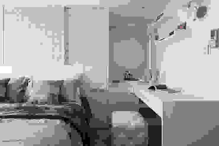 主臥室 根據 你你空間設計 北歐風