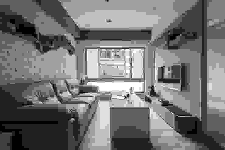 空間運用 你你空間設計 现代客厅設計點子、靈感 & 圖片