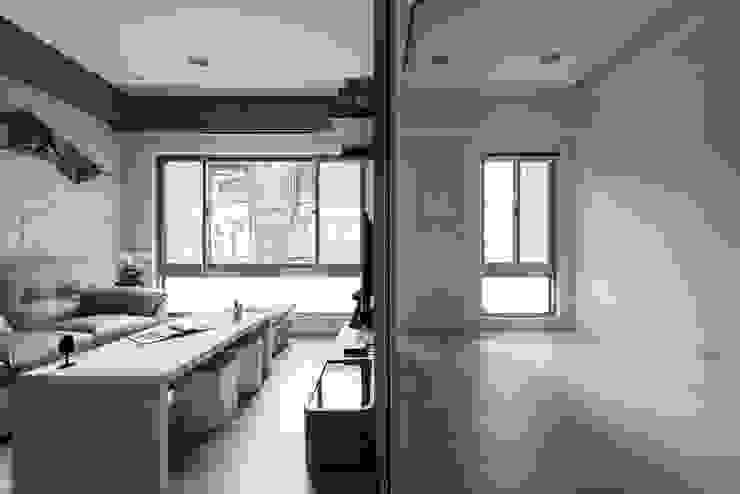 局部清玻隔間 你你空間設計 書房/辦公室