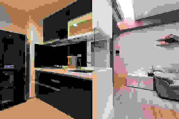 廚房 你你空間設計 現代廚房設計點子、靈感&圖片
