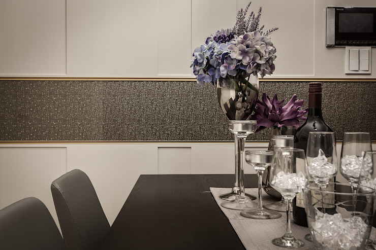腰帶點綴 你你空間設計 餐廳