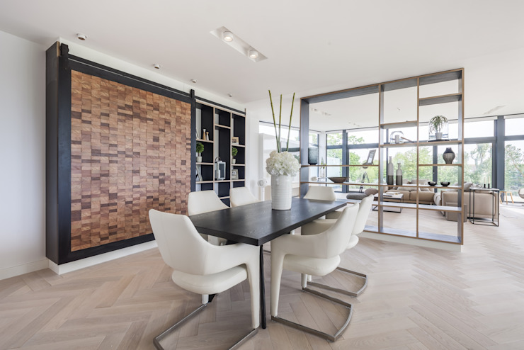 Wick Lane, Christchurch By Jigsaw Interior Design Modern dining room by Jigsaw Interior Architecture Modern Wood Wood effect