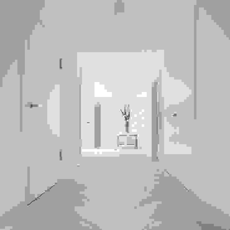 Wick Lane, Christchurch By Jigsaw Interior Design Pasillos, vestíbulos y escaleras de estilo moderno de Jigsaw Interior Architecture Moderno Madera maciza Multicolor
